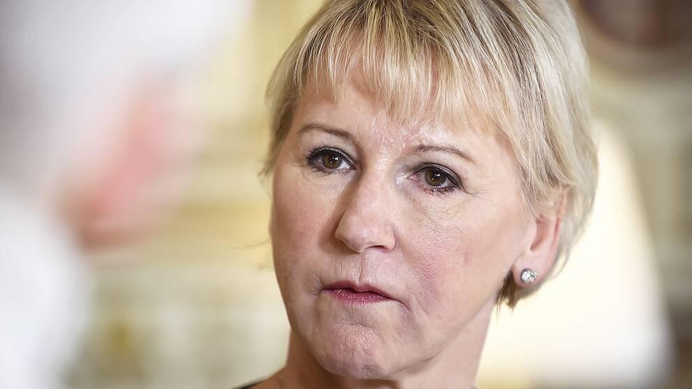 Margot Wallström (S), utrikesminister