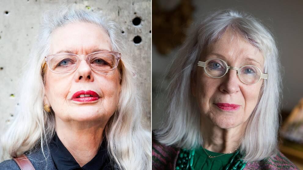 Marianne Lindberg De Geer och Suzanne Osten.
