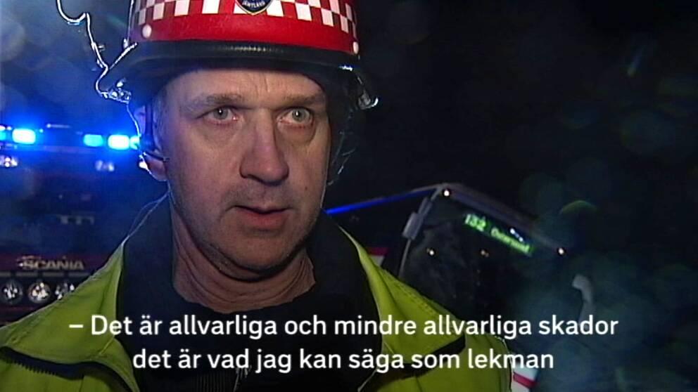 Janne Karlsson, insatsledare.