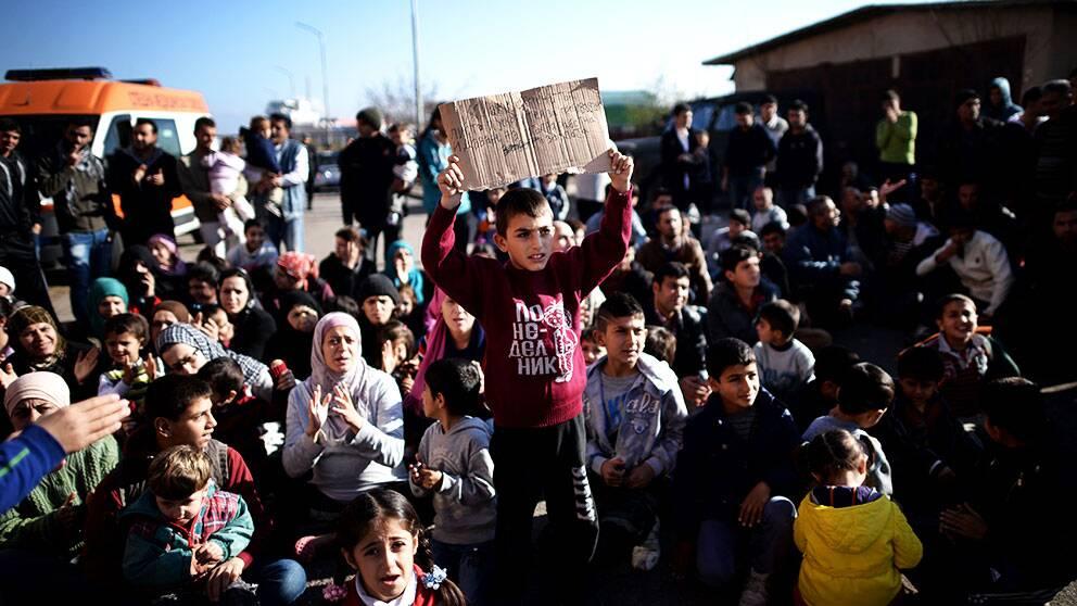 Syrier rostade i sverige