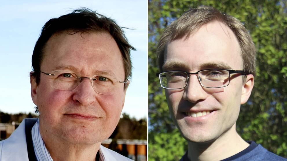 Claude Markus och Andreas Håkansson