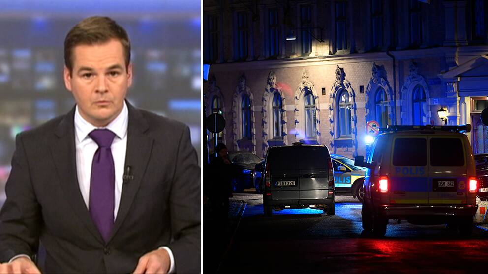 En ungersk programledare för MTVA är en av många som rapporterat om attacken mot synagogan i Göteborg.