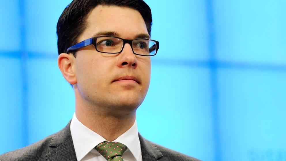 Sverigedemokraternas partiledare Jimmie Åkesson. Foto: Scanpix