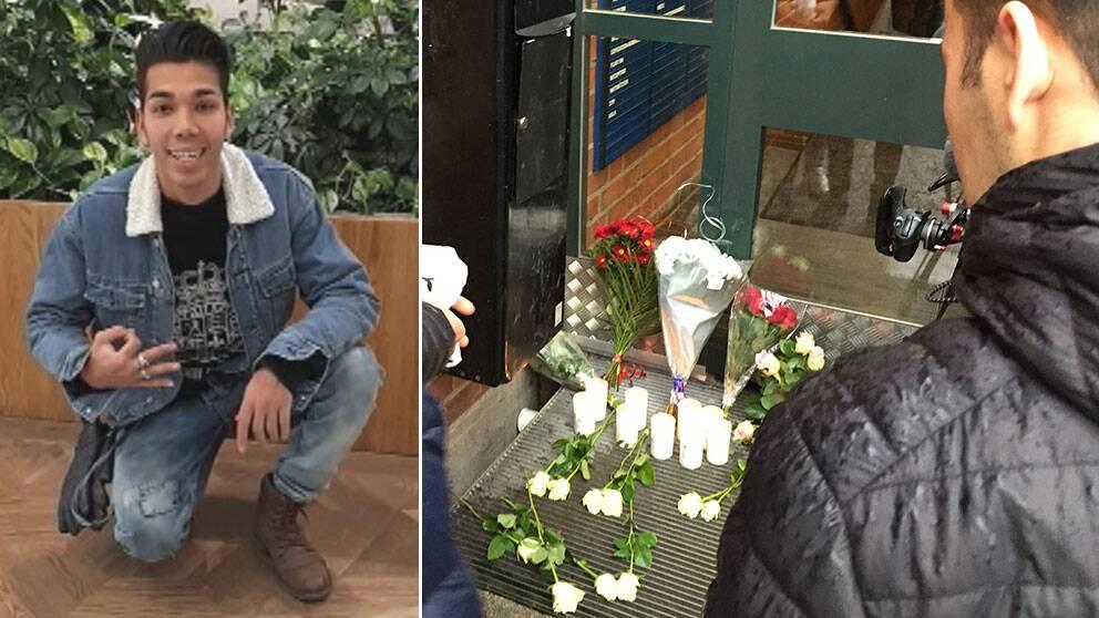 Mahmoud Alizadeh, 17, knivhöggs så svårt på väg till en lektion att hans liv inte gick att rädda.