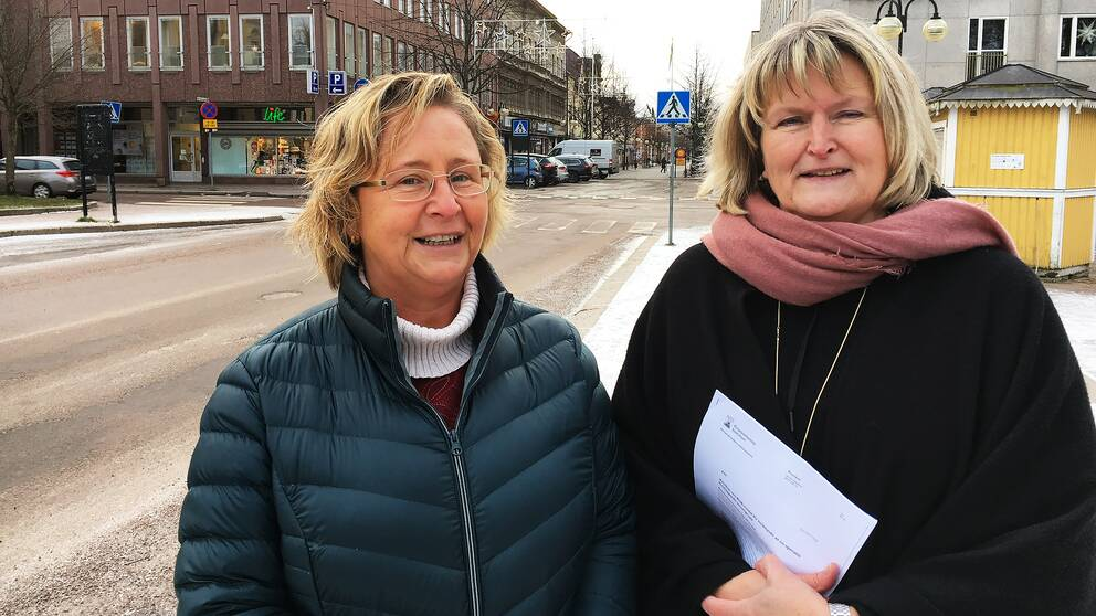Mary Lind Dalevi, enhetschef och Erna Blom, verksamhetschef