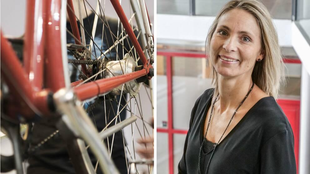 Helén Rosenberg är positiv till den nya cykelteknikerutbildningen.