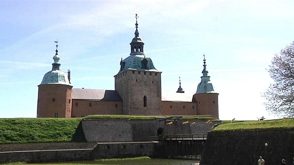 Kalmar slott, exteriör