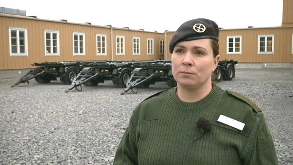 Therése Fagerstedt, kommunikationschef Försvarsmakten Gotland