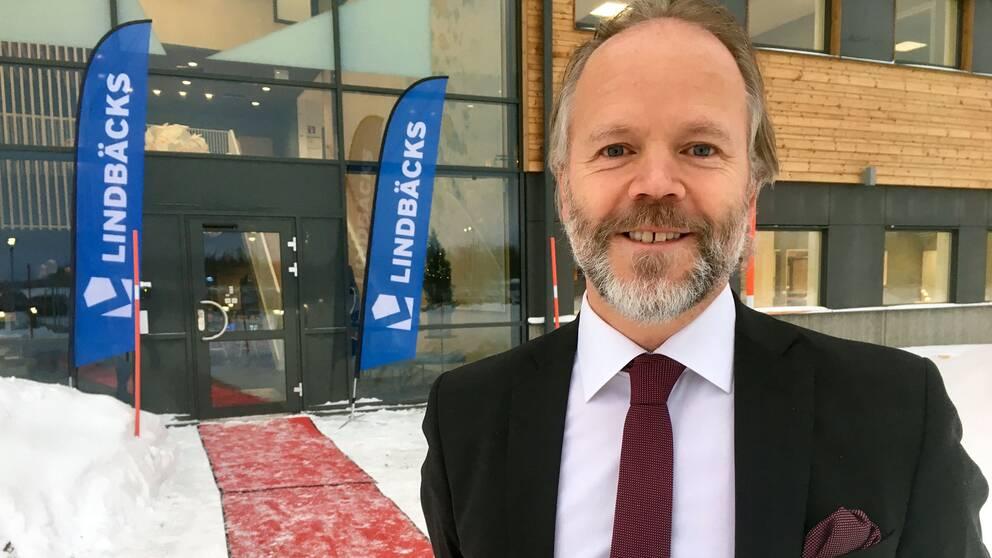 Stefan Lindbäck, vd Lindbäcks bygg