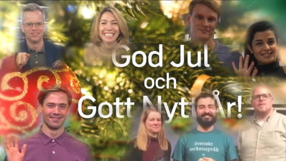 Kändisar önskar God Jul