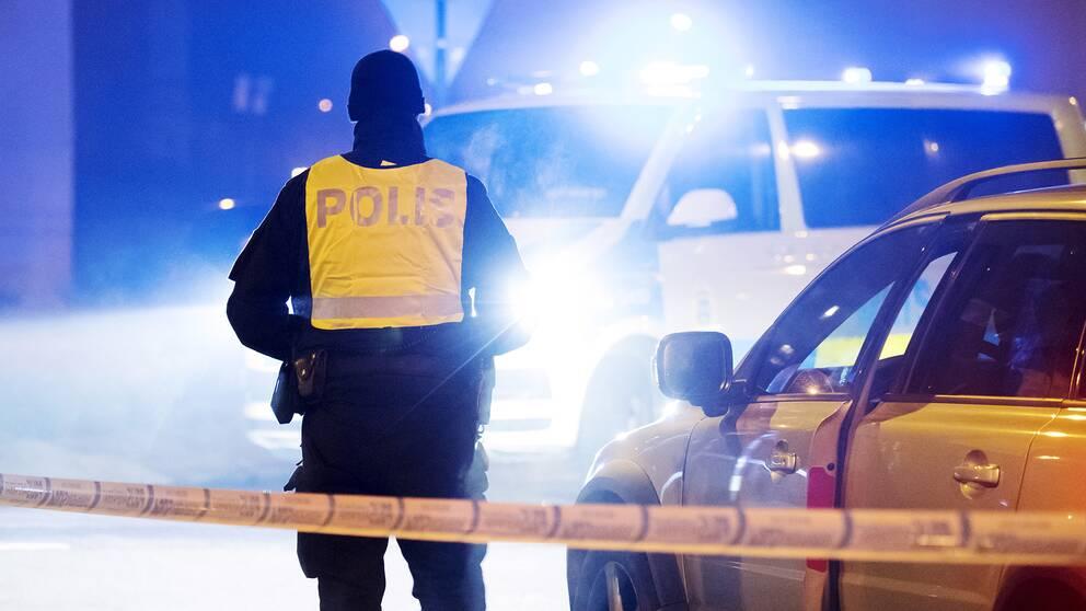 En polis.