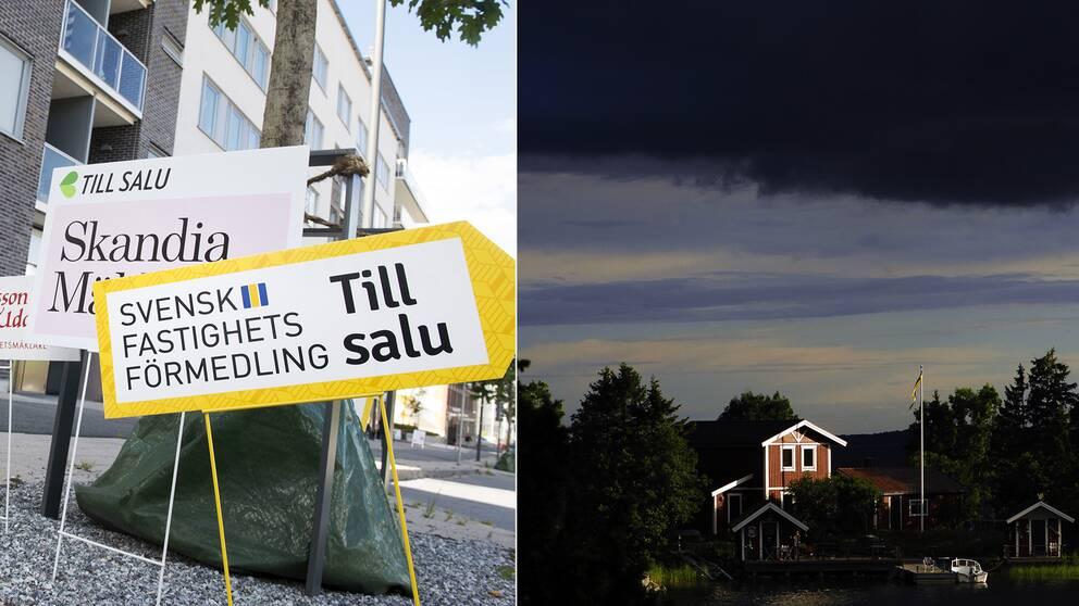 Bopstadspriserna kommer sjunka mer, spår Riksbanken.