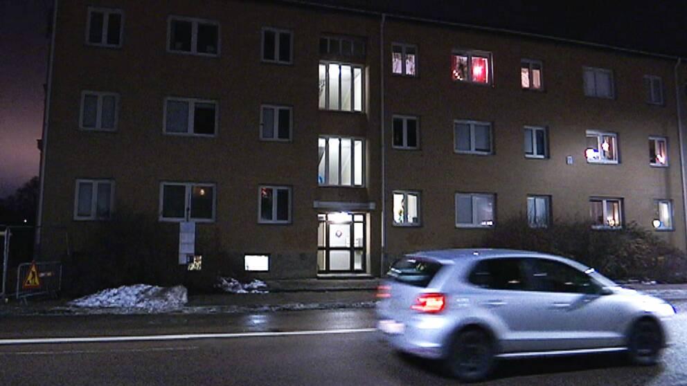 Huset ligger på Brogatan i Karlstad