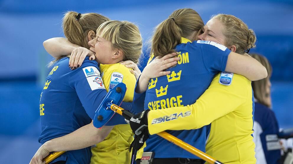 Sverige vann em guld i curling