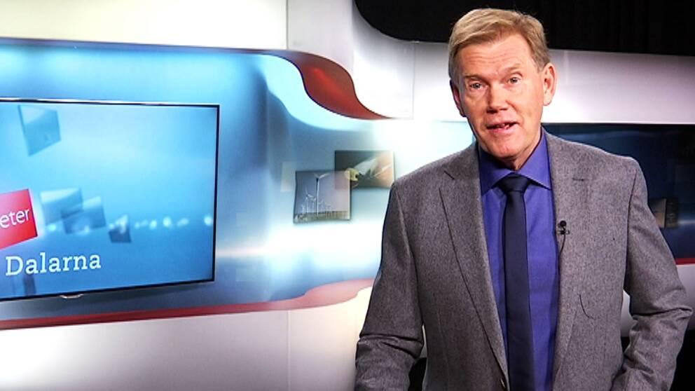 Programledare Lars-Gunnar Larsson