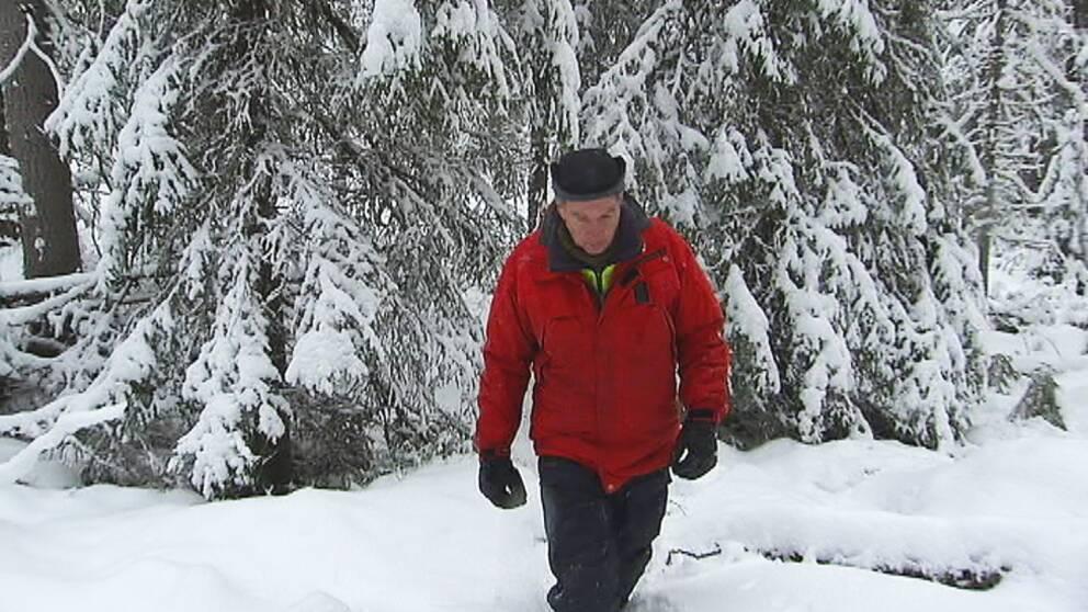 Per Larsson är naturbevakare på länsstyrelsen