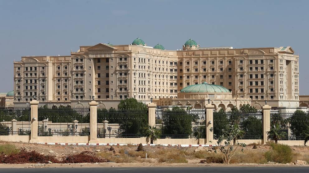 Det femstjärniga lyxhotellet Ritz-Carlton.