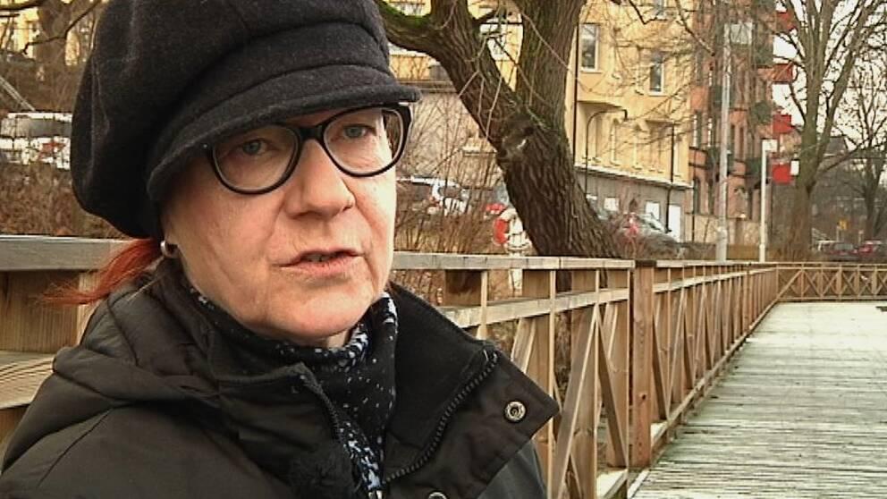 Gunilla Söderholm, behandlingsassistent på ungdomshemmet Tysslinge.