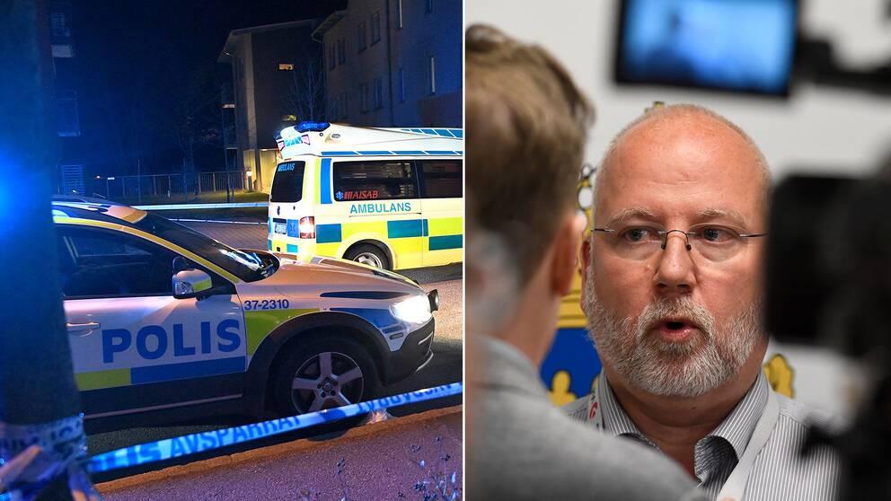 Gunnar Appelgren, polisens gängspecialist.