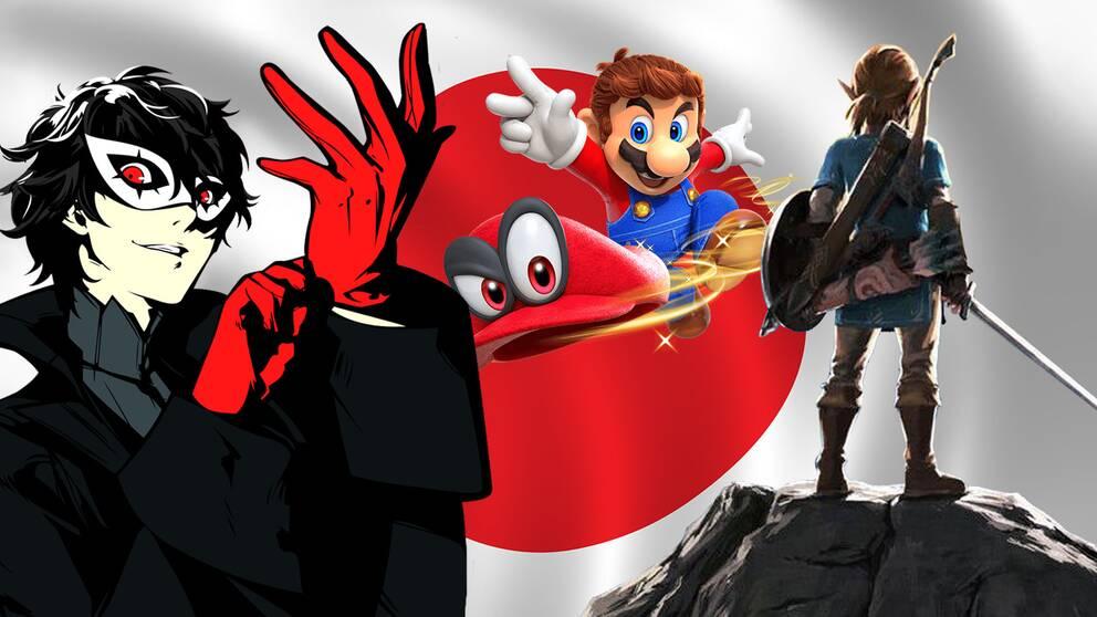 Persona 5, Super Mario Odyssey och Zelda är några av årets spelhöjdpunkter.