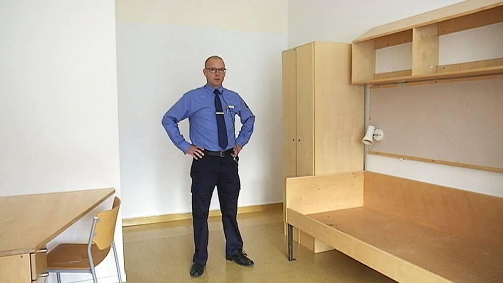 Daniel Sundby kriminalvårdsinspektör Kolmårdsanstalten norrköping