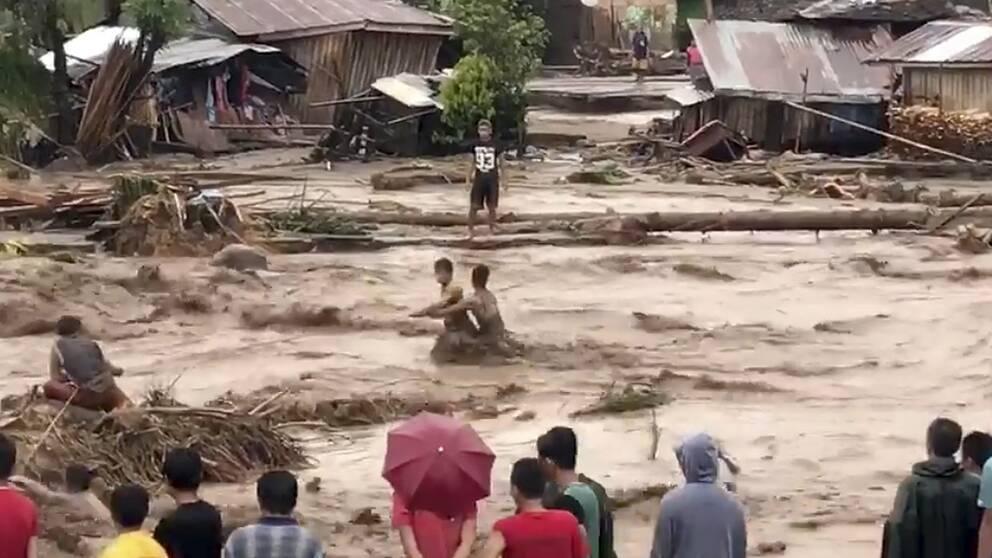 Stigande dodstal i filippinerna
