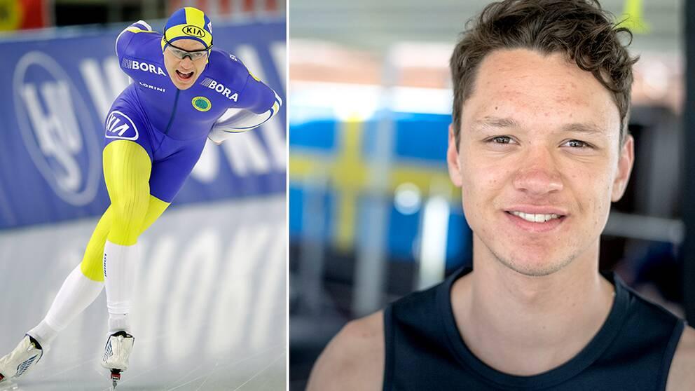 Skridskoåkaren Nils van der Poel, 21, är klar för sitt första OS.