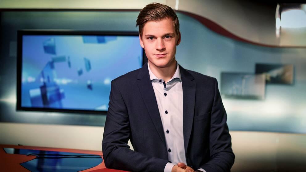 Johan Pisoni är reporter och programledare på SVT.