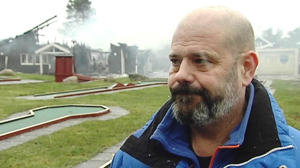 Lars Petterson, en av familjemedlemmarna som driver Hotell Gottskär.