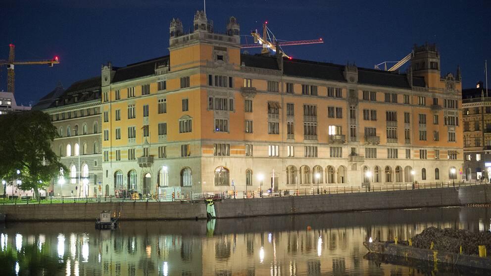 Regeringskansliet Rosenbad i Stockholm