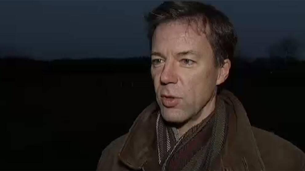 Fredrik Wallin, talesperson FRA.