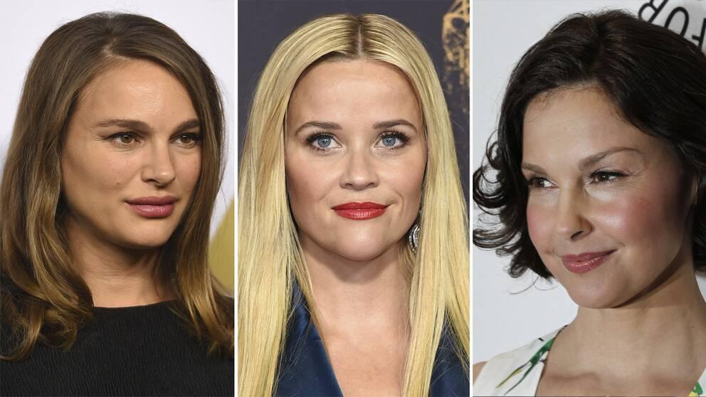 Natalie Portman, Reese Witherspoon och Ashley Judd