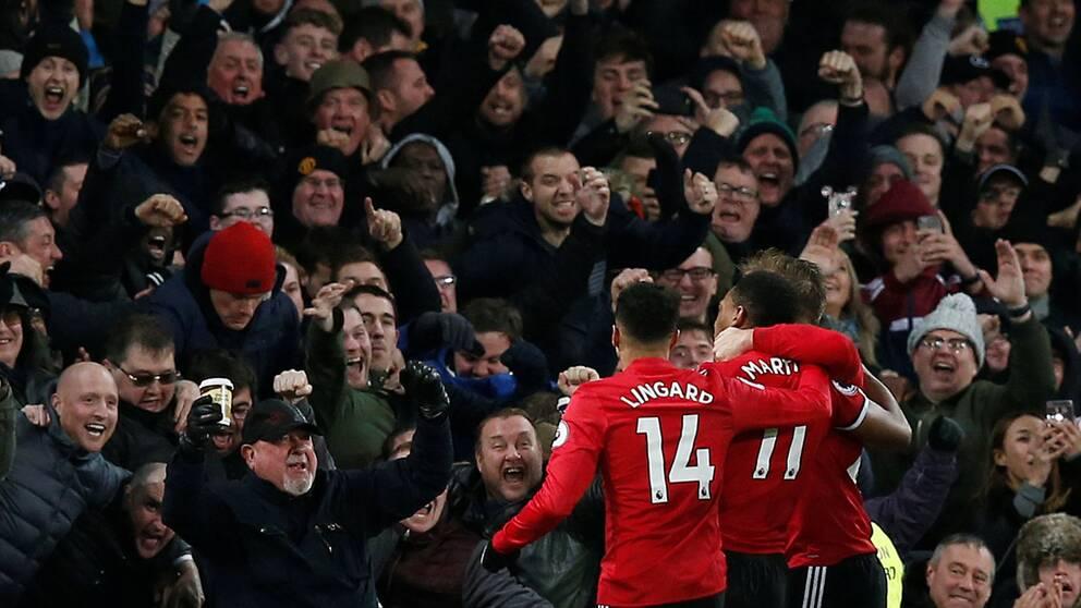 Manchester uniteds dystra lista