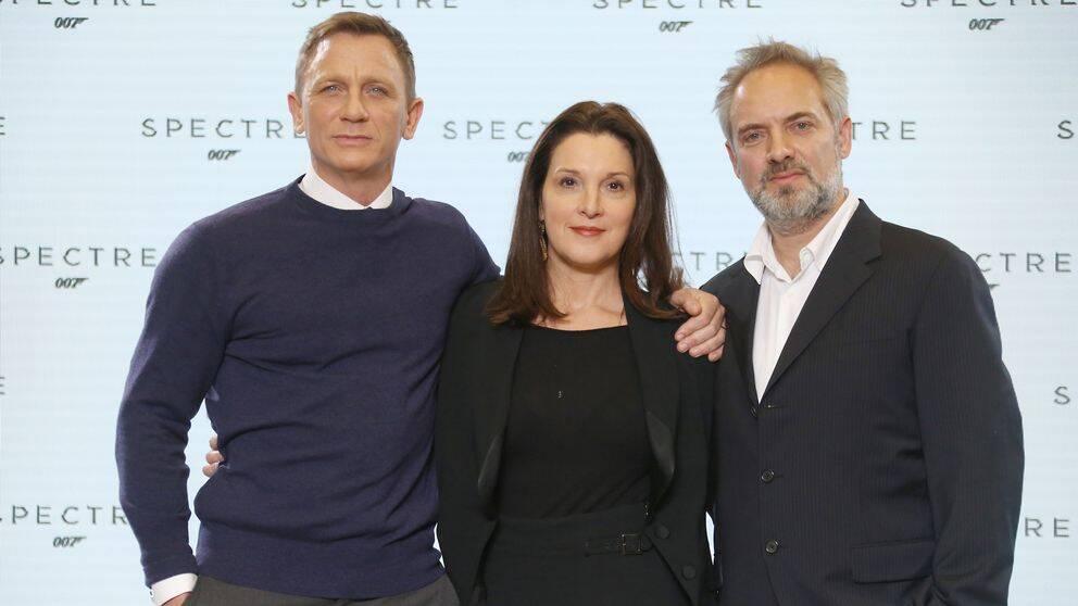 Daniel Craig, Barbara Broccoli, Sam Mendes
