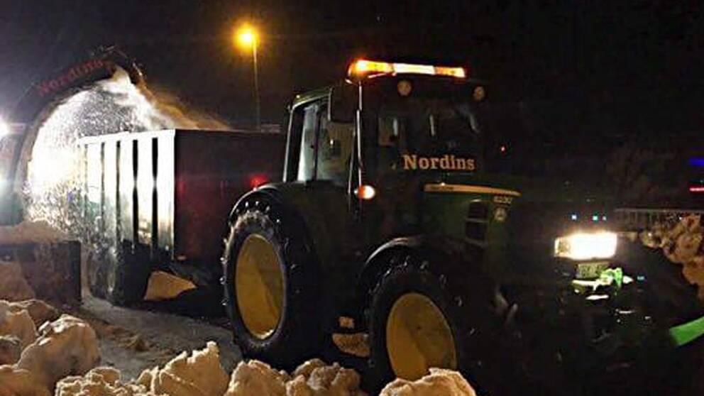 Traktorer for miljoner stulna