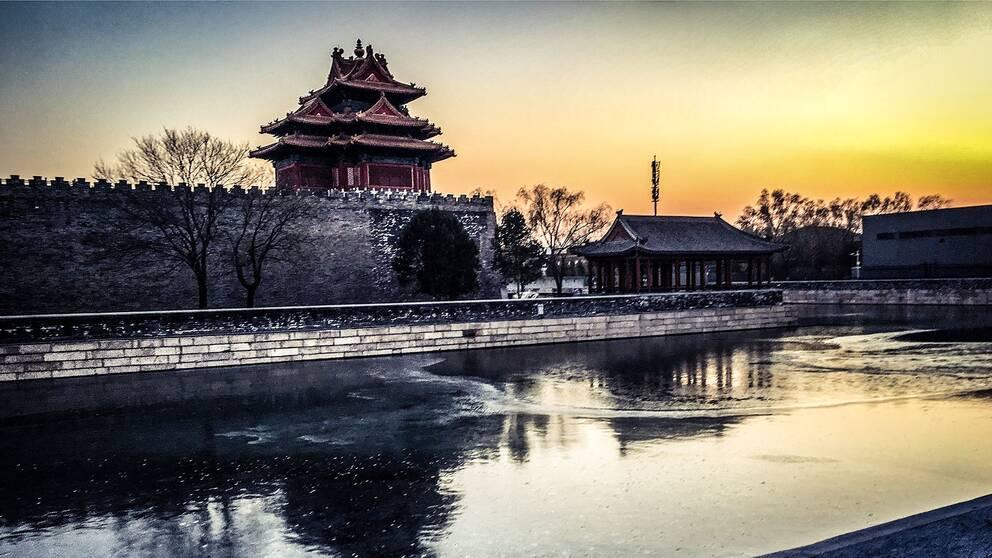 I Kinas huvudstad Peking har luften varit bättre än på fem år under 2017.