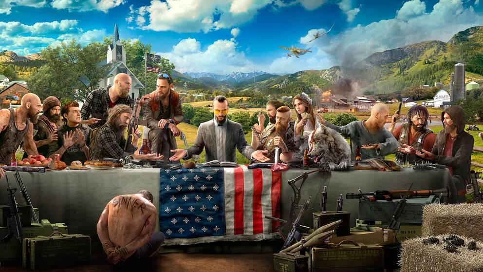 Far Cry 5:s mörka, politiska undertoner har gjort spelet kontroversiellt på förhand i ett USA präglat av politisk splittring.