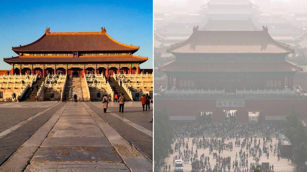 Den förbjudna staden, Peking.