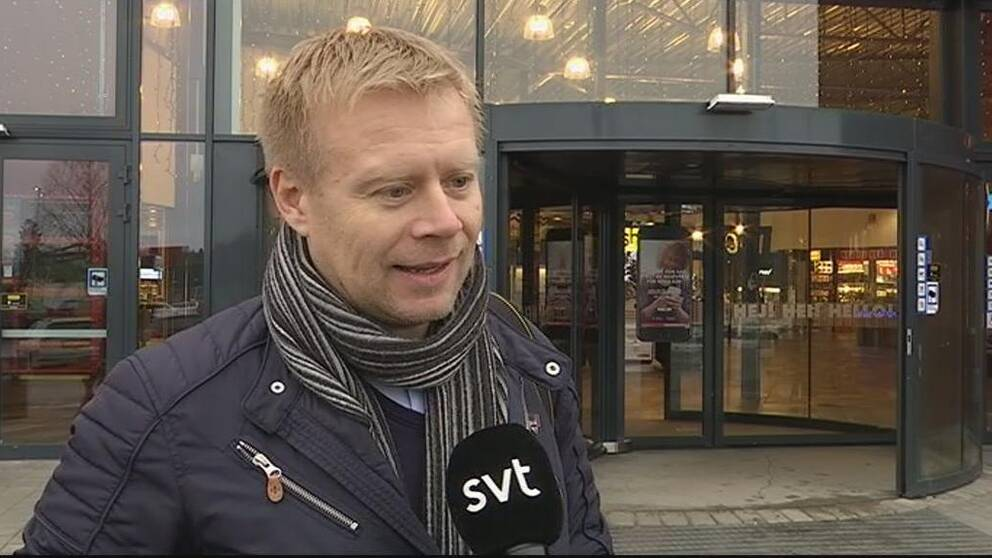 Lars Erik Erøy tror på gränshandeln.