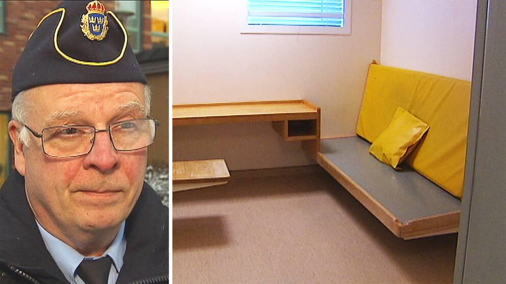 Enligt polisen omhändertogs mannen i centrala Karlstad sent i natt