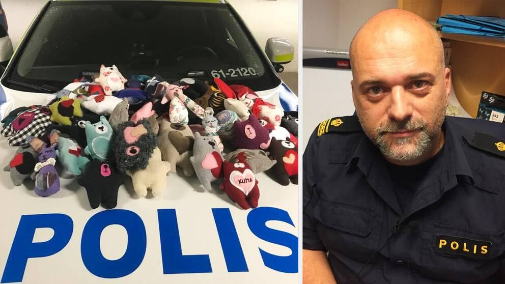 polisen Karlskrona, gosedjur, välgörenhet