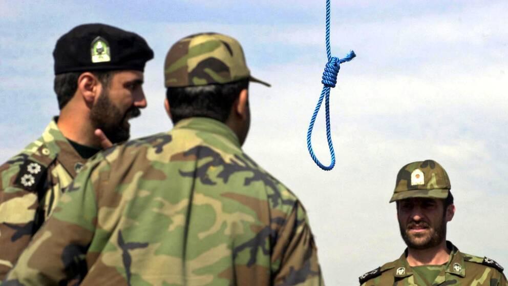 De flesta av fångarna som avrättas i Iran har dömts för narkotikabrott. Arkivbild.