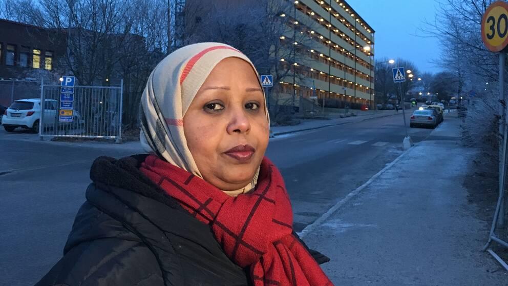 Fadumo Igal i Rinkeby vill se ett slut på de gängrelaterade morden.