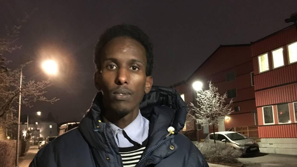 Mohamed Nuur (S), ersättare i Spånga-Tensta stadsdelsnämnd.