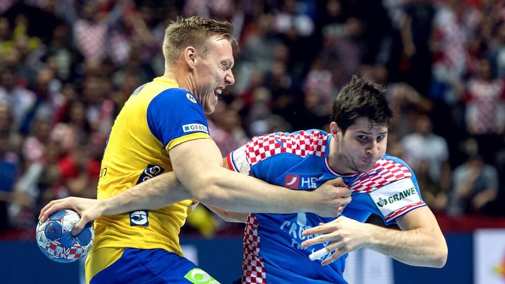 Klart med landskamp mot kroatien
