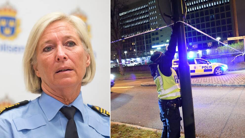 Carina Persson, regionpolischef i Syd