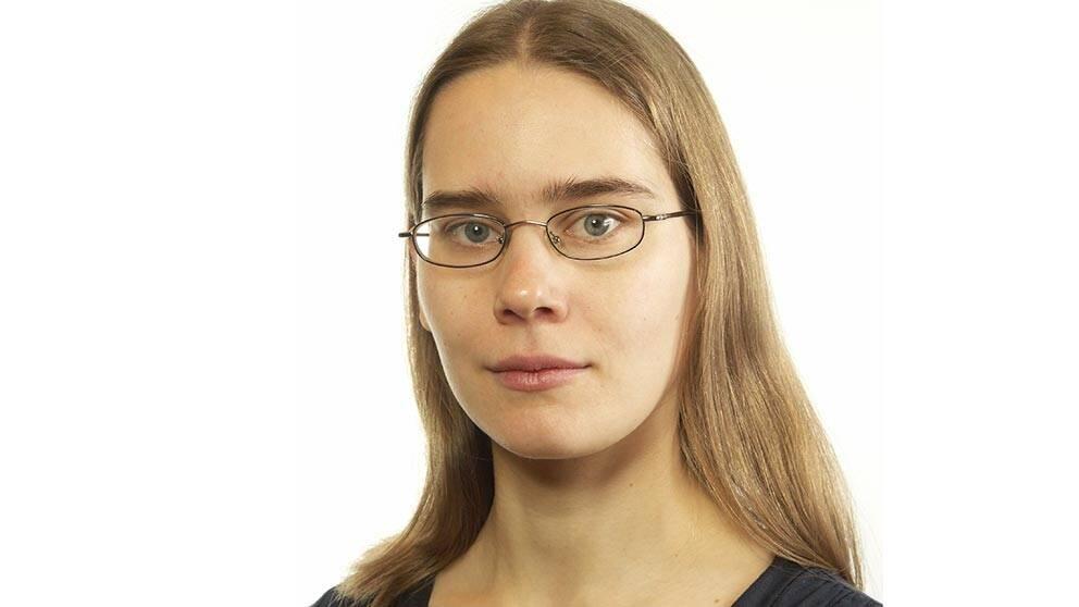 Helena Leander, riksdagsledamot för Miljöpartiet i Uppsala län.