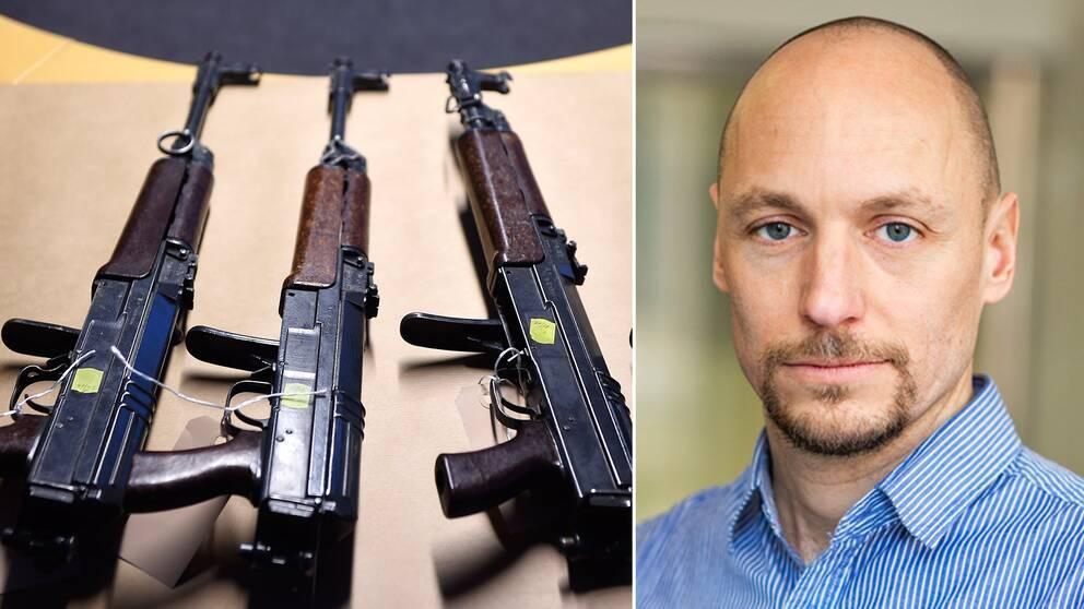 Brottsförebyggande rådets kriminolog Daniel Vesterhav.