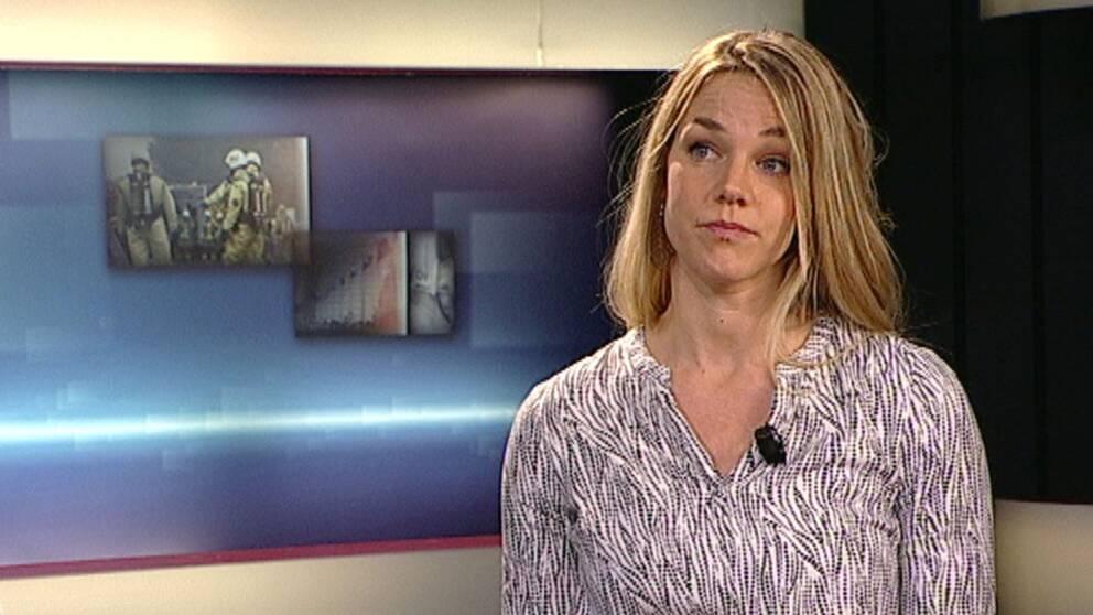 Natali Medic, reporter på SVT Nyheter Skåne.