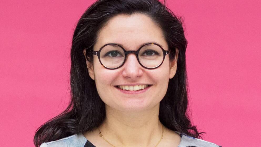 Gita Nabavi, ny partiledare för Fi.